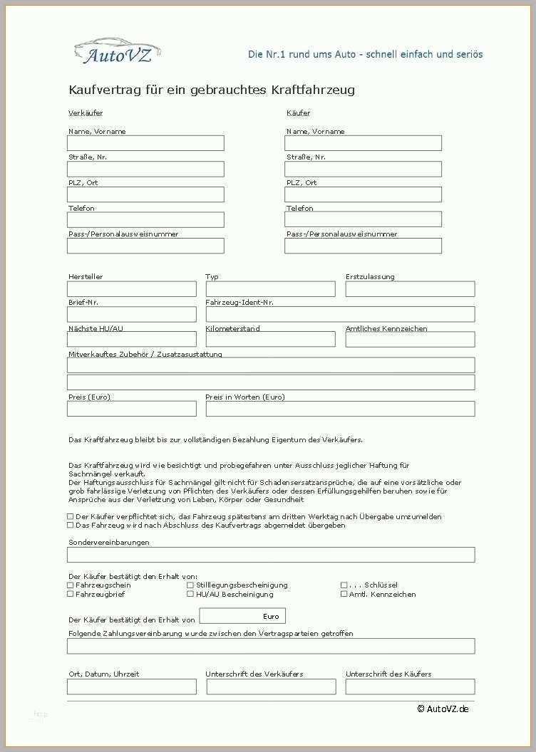 Adac Kaufvertrag Englisch