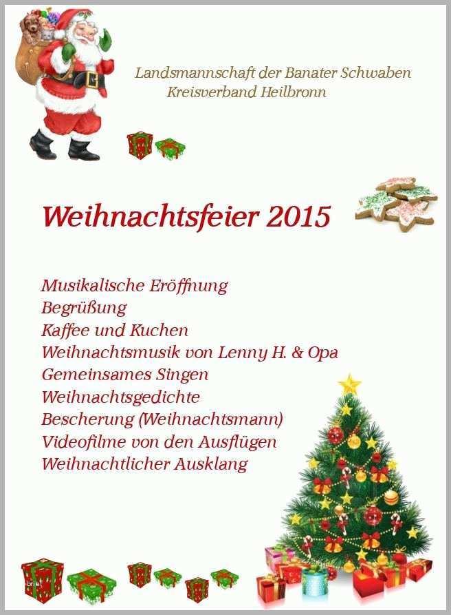 außergewöhnlich einladung weihnachtsfeier 2015
