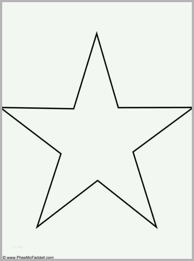beeindruckend stern vorlage groß wunderbar malvorlage