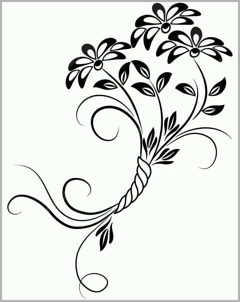 Bemerkenswert Florale ornamente Vorlagen Kostenlos