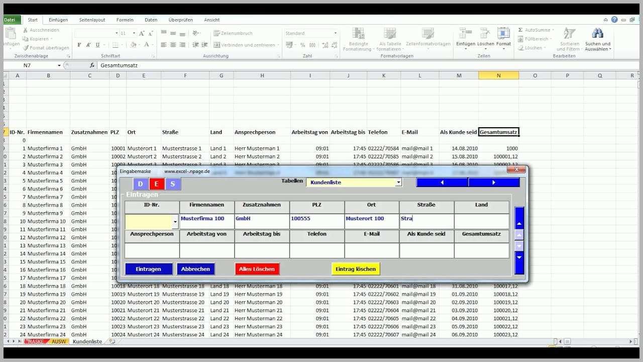 Kostenlose Datenbanken