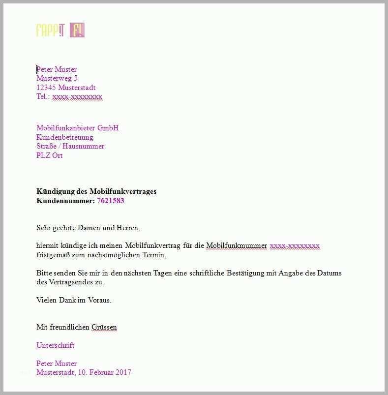 Telekom Festnetz Kündigung Vorlage Pdf