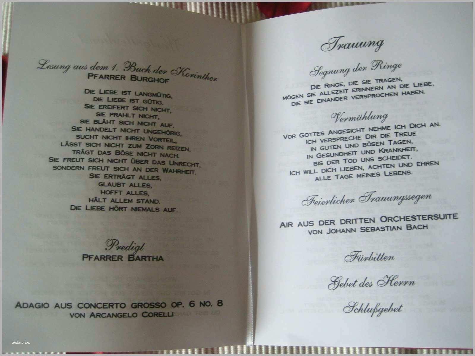 Kirchenheft Hochzeit Inhalt Katholisch