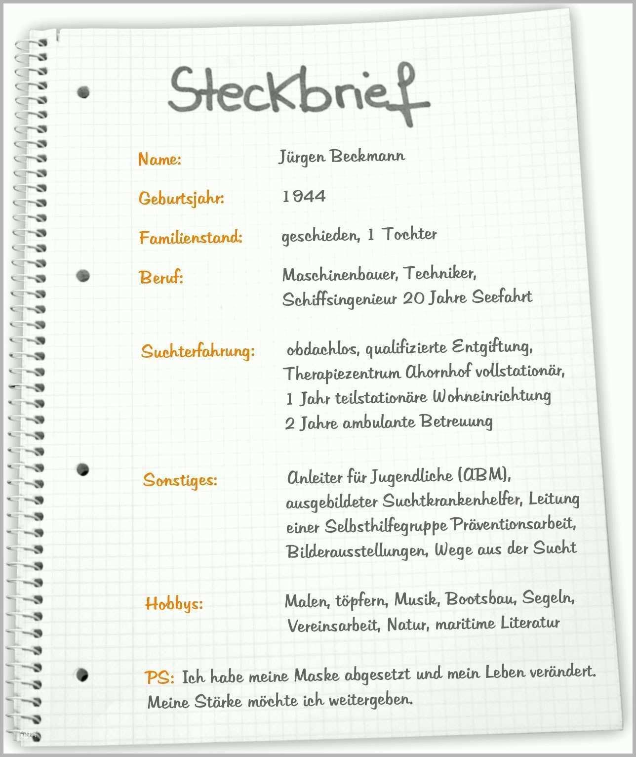 Steckbrief Leer