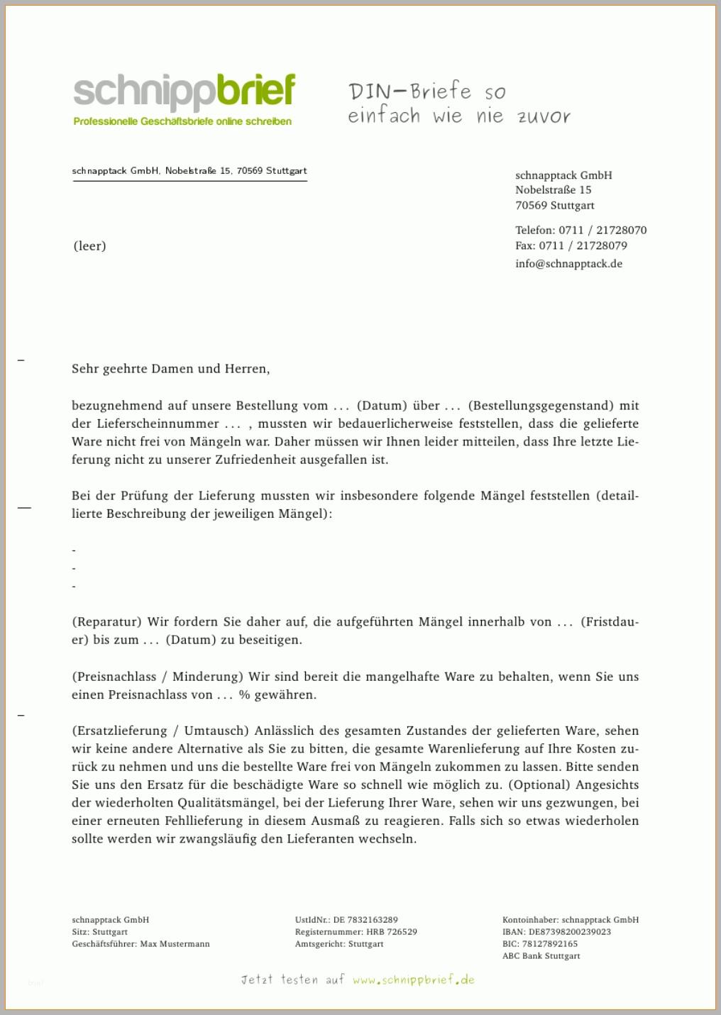 Briefkopf Vorlagen