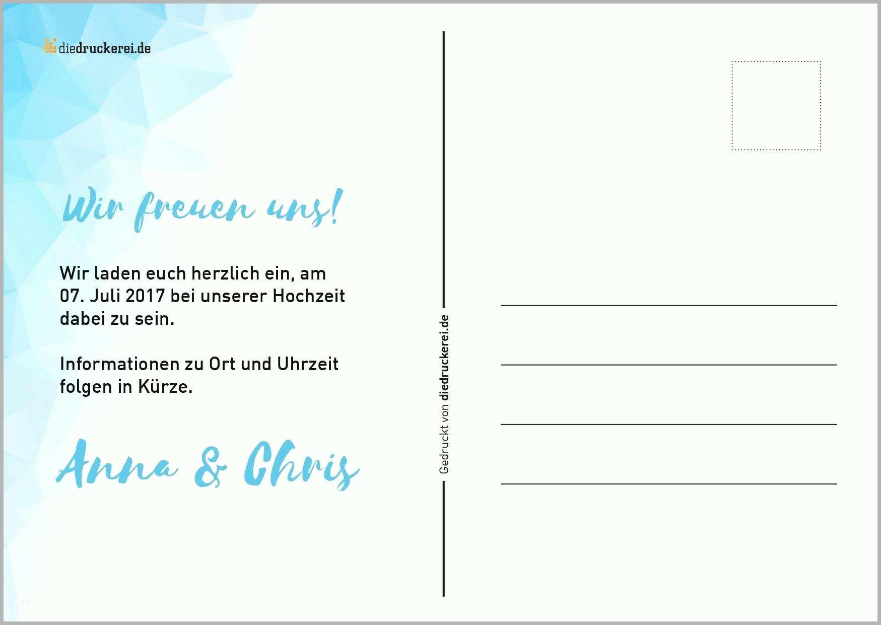 Postkarte Vorlage Word