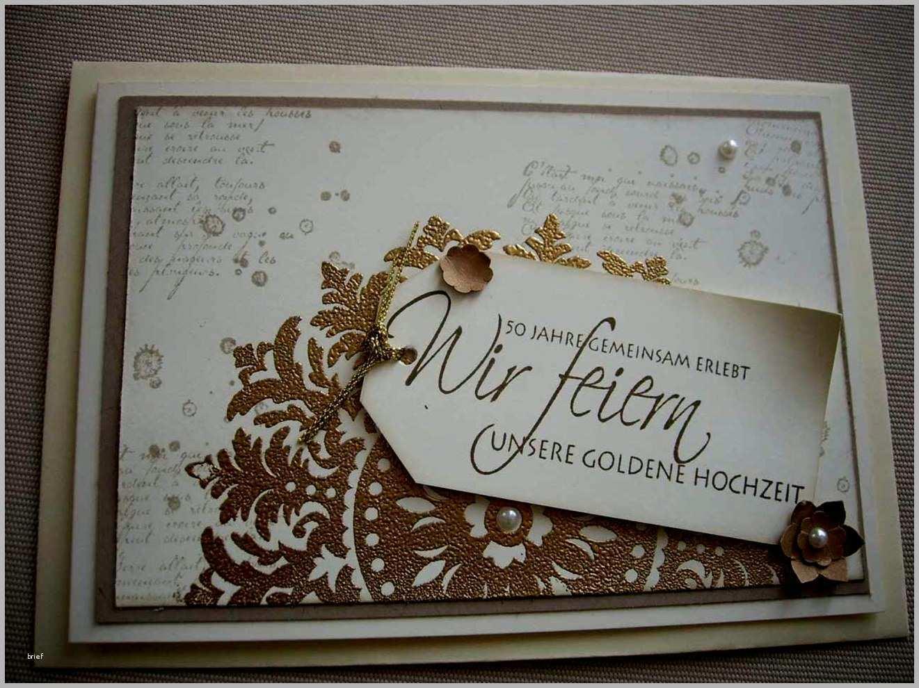 Perfekt Einladungen Goldene Hochzeit Vorlagen